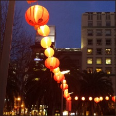 art - 100 Chinese Lanterns