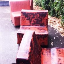 art - BEFORE graffiti seats