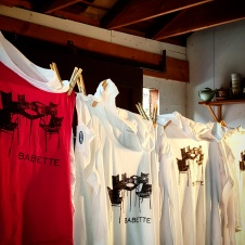 clothing design - t shirt design - babette 1