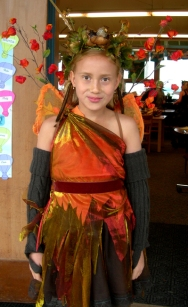 Fall Fairy costuming
