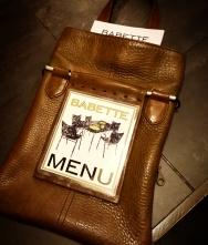 menu holder