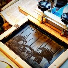 silkscreen process