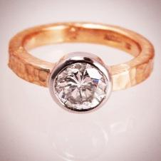 platinum/18KY with diamond