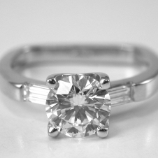 platinum/diamond ring