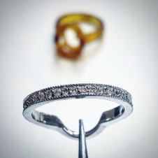 platinum/diamond wedding ring