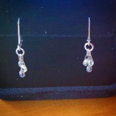 platinum/14KW/diamond briolette