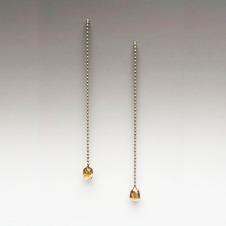 platinum/cognac diamonds