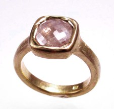 rosecut diamond/18KY