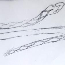 snake bangle rendering