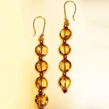 4 tier earrings