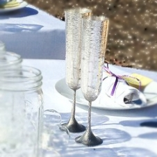 sterling wedding cups