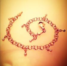 diamond drop bracelet