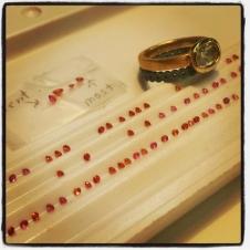 process sapphire bands
