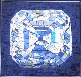 mosaic sofa